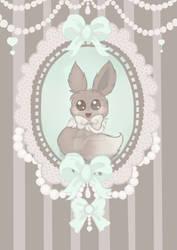 Vintage Eevee (commission)