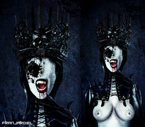 The Black Queen by FranJardiel