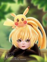Yellow and pikachu - Pokemon by violonx
