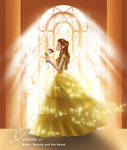 Belle - Beauty and the Beast by violonx