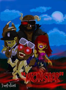 Kanye West's 'Monster'