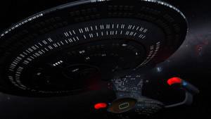 Enterprise D iray lighting test 2