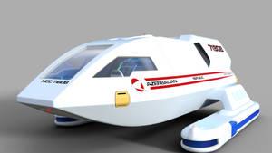 Shuttle Test Render by ashleytinger