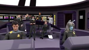 Republic - Bridge Crew by ashleytinger