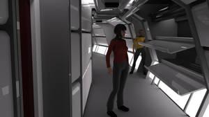 TMP Concentric Corridor Render Test by ashleytinger