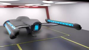 Mesa Verde Class and Starbase Hangar WIP 01