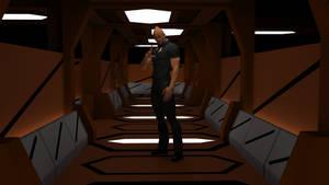 WIP K'tinga Corridor 01 by ashleytinger