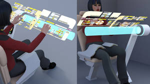 Holographic Console - Proof of Concept by ashleytinger