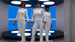 Dress Whites Uniform 2280s Test Render