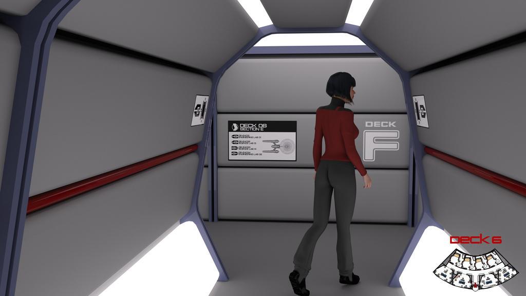 Deck 6 Midships Corridor Test 01 by ashleytinger