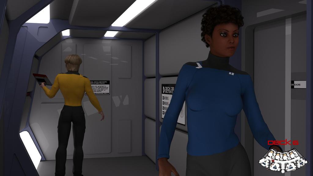 Deck 6 Midships Corridor Test 03 by ashleytinger