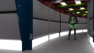 Destroyer Concentric Corridor Build Test by ashleytinger