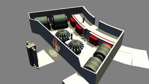 Destroyer Engineering Build 03 by ashleytinger