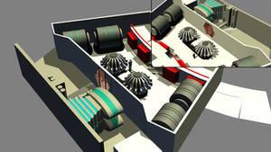 Destroyer Engineering Build 04 by ashleytinger