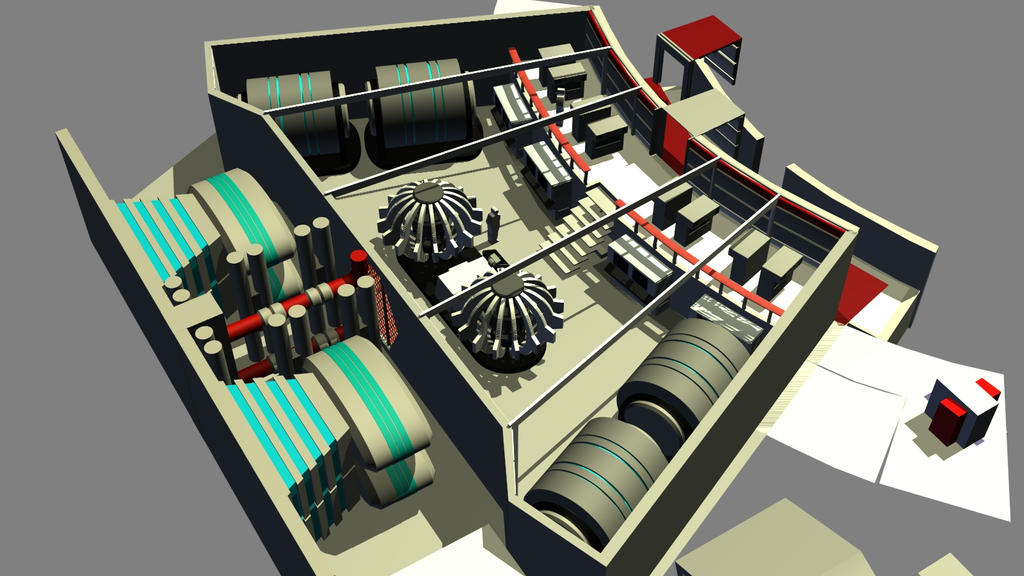 Destroyer Engineering Build 08 by ashleytinger