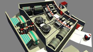 Destroyer Engineering Build 08