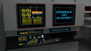 Destroyer Engineering Dilithium Console Test