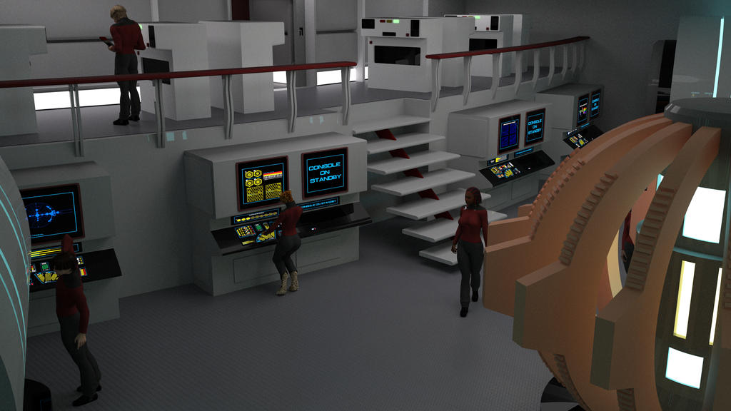 Destroyer Engineering - View From the Bulkheads by ashleytinger