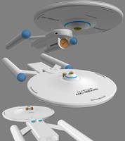 Civilian Scout Ship Wip 11 - Liberty Class by ashleytinger