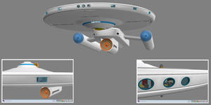 Civilian Scout Ship WIP 13 Liberty Class by ashleytinger