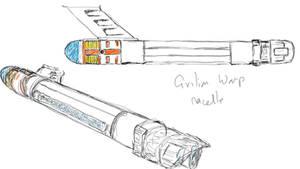 Civilian Scout Warp Nacelle sketch