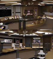 Voyager Bridge TNG colors by ashleytinger