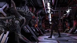 Halloween 2018 - Day 01 - Alien Infestation