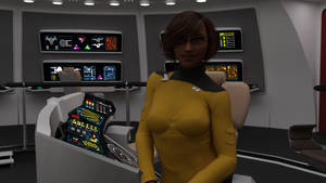 Challenger Crew Profile - Lt. Aemilia Faryna by ashleytinger
