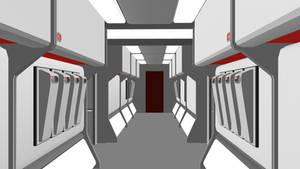 24th Century Corridor - WIP Access Panel Detail by ashleytinger