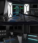 Babylon 5 Omega Class Bridge WIP 05 by ashleytinger