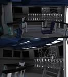 Babylon 5 Omega Class Bridge WIP 06