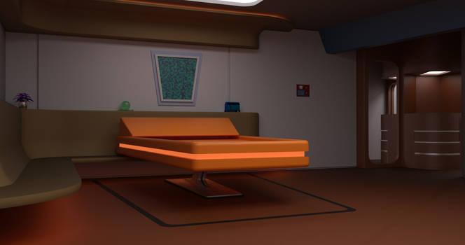 TOS Stateroom - Bedroom