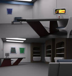 TOS Stateroom - Office by ashleytinger