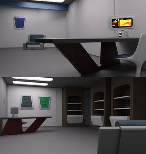 TOS Stateroom - Office