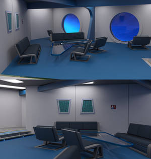 TOS Stateroom - Lounge