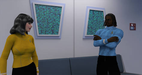 TOS Stateroom - Lounge Character Test by ashleytinger
