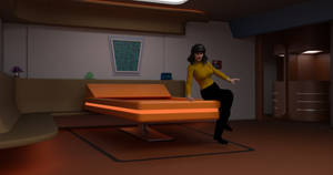 TOS Stateroom - Bedroom Character Test by ashleytinger