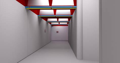 TOS Stateroom - Exterior Corridor by ashleytinger