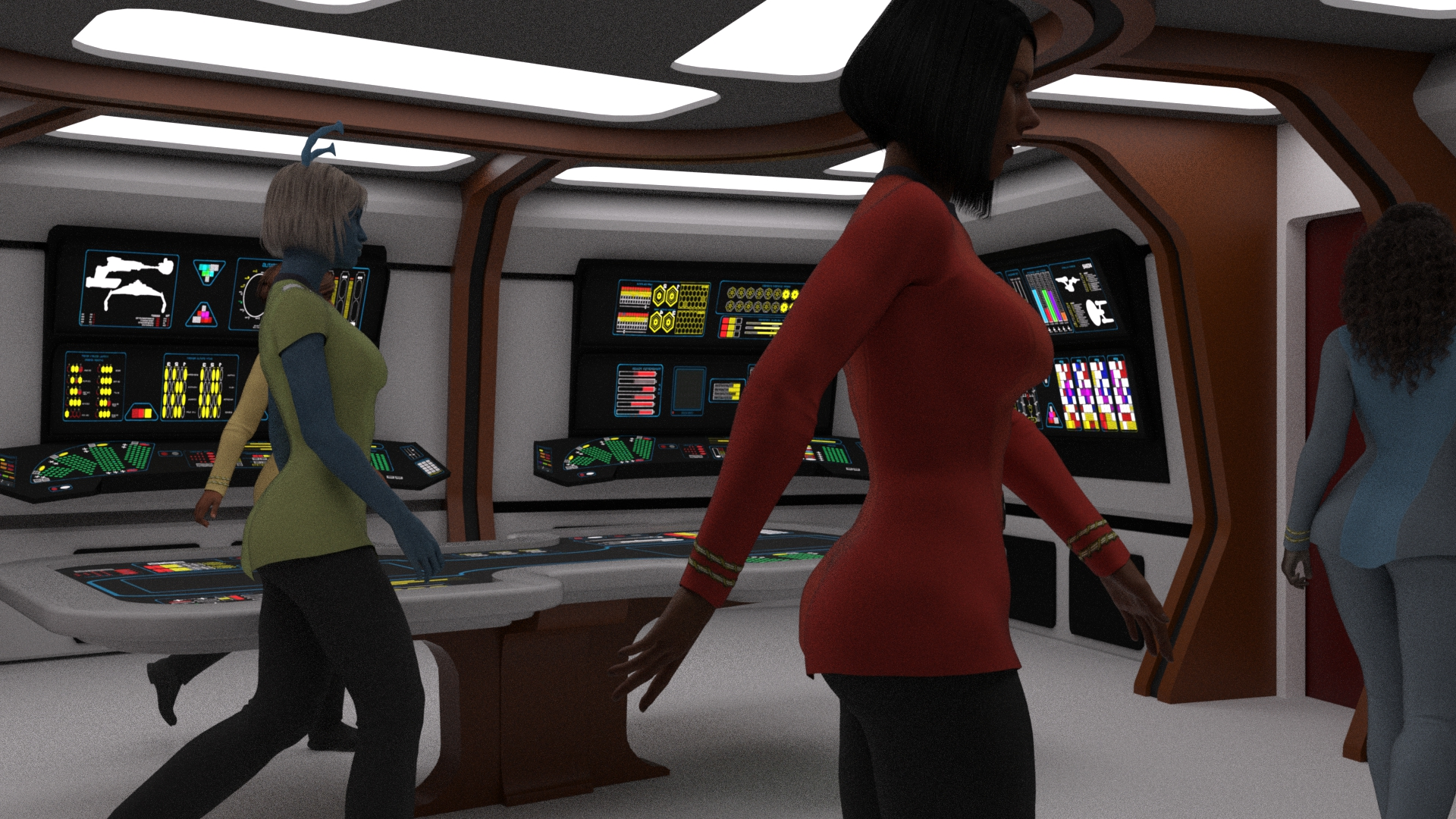 23rd Century CIC-Mission Ops Render Test