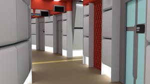 Throwback Corridor - Phase II Palette by ashleytinger