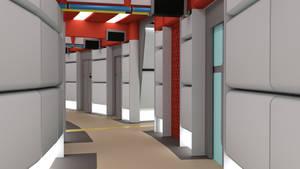 Throwback Corridor - Phase II Palette 2 by ashleytinger