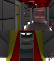Throwback Corridor - Engineering Section by ashleytinger