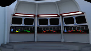 Bridge of the Week - TOS Console Render Test by ashleytinger