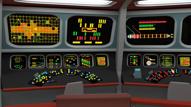 Bridge of the Week - TOS Communications Console