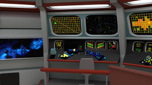 Bridge of the Week - TOS Science Console by ashleytinger