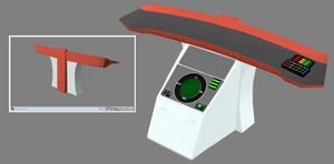 Phase II Bridge refresh - helm WIP 01 by ashleytinger
