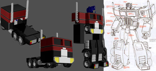 Generation Two Optimus WIP 02