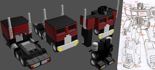 Generation Two Optimus WIP 03