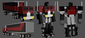 Generation Two Optimus WIP 05
