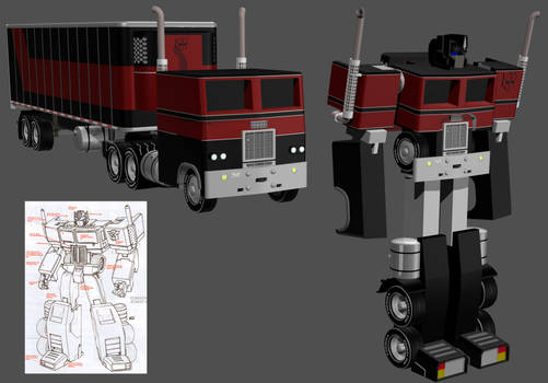 Generation Two Optimus WIP 07